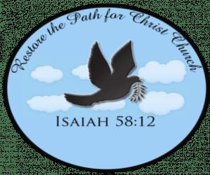 Restore the Path for Christ Church - Logo