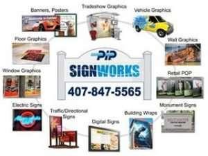 PIP SignWorks Logo